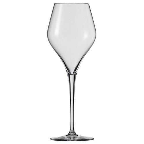Schott Zwiesel Finesse 6-teiliges Riesling Weißweinglas Set Wijnglas, Kristalglas met Tritan beschermlaag, Transparente, 8 cm, 6