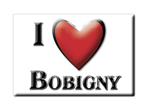 Enjoymagnets BOBIGNY (93) Souvenir Aimant DE FRIGO France Picardie IDÉE DE Cadeau Magnets Je Aime