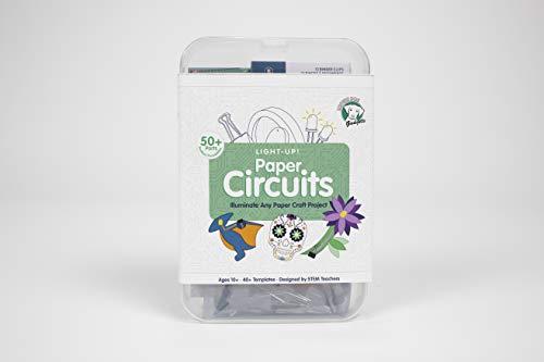 Brown Dog Gadgets - Paper Circuits - Standard KIT - Educational STEM Building Kits for Kids