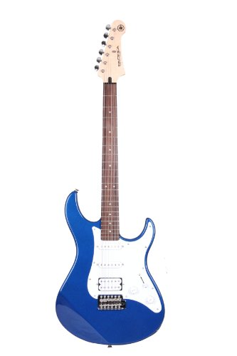Yamaha Pacifica 012 Guitarra Eléctrica Guitarra 4/4 de madera, 64.77 cm, escala 25.5 pulgadas, 6 cuerdas, selector pastillas de 5 posiciones, Color Azúl Metálico