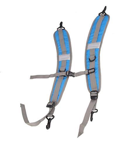 123Arts 1 Pair Waterproof PVC Adjustable Replacement Backpack Strap