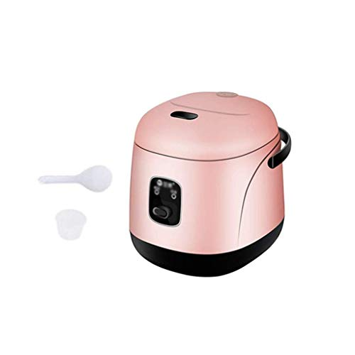 KaiKai Mini Reiskocher, Elektroherd Hot Pot Eierkocher Stahl Hot Pot Hot Pot Modernisiert, Non-Stick Sauteacute;Pan, Schnelle Nudeln Cooker (Farbe: rot) (Color : Red)