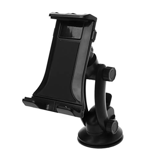 Autone Universal Phone Holder Car Windshield Dashboard Mount Sticky Suction Cup Stand Adjustable 360 Degrees Rotation for iPad 3.5-11' Mobile Tablet PC GPS