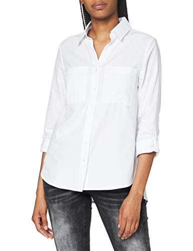 Street One Damen 342175 Bluse, White, 40