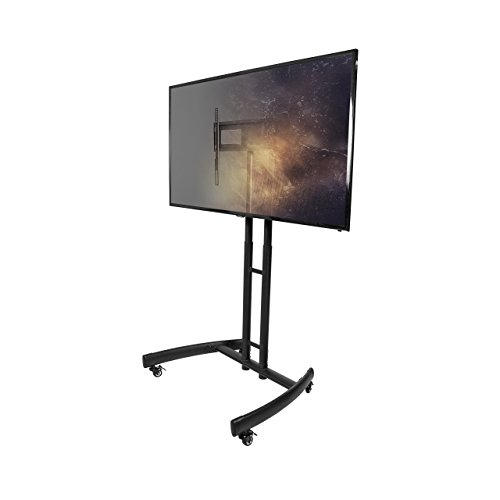 Kanto MTM55 Mobile TV Stand with Mount for 32 to 55 inch Flat Panel Screens...