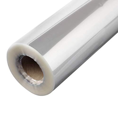 Artibetter 1 rouleau de cellophane transparent wrap cristal épais emballages cadeaux panier pour fleuriste (50cm x 20m)