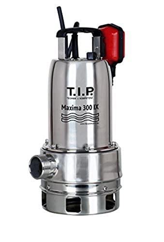 T.I.P. 30116 Pompe submersible pour eaux usées Maxima 300 IX en acier inoxydable