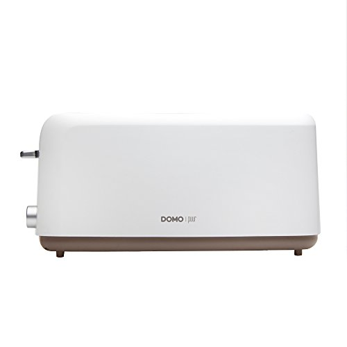 DOMO DO968T Toaster, weiß