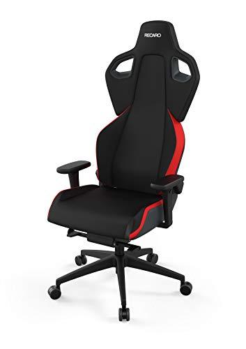 RECARO Exo Gaming Chair | Lava Red – Ergonomischer, atmungsaktiver Gaming-Stuhl mit Feinjustierung - Designed & Made in Germany