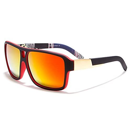 Amethyst Gafas de Sol para Hombres y Mujeres, protección UV400 polarizada, Montura Liviana, Gafas de Sol Deportivas para béisbol, Golf, Caza, Correr, Conducir, Bicicleta, Escalada,D