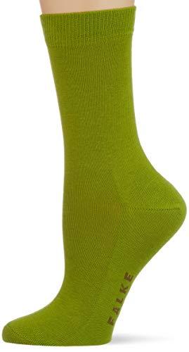 FALKE Damen Family W So Socken, 1er Pack, grün (bamboo 7187), 39-42