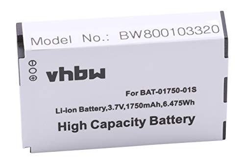 vhbw Li-Ion Akku 1750mAh (3.7V) für Handy, Smartphone, Handy Socketmobile Sonim Seals VR7, XP1300, XP3 Quest, XP1300 Core, XP1301 wie BAT-01750-01 S