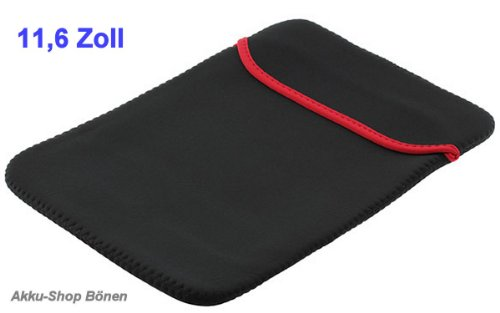 Neoprentasche für Laptops / Notebooks bis 11,6 Zoll