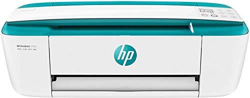 HP DeskJet 3762 + Tarjeta regalo €5 Amazon - Impresora multifunción tinta, color, Wi-Fi, copia, escanea, compatible con Instant Ink, color verde