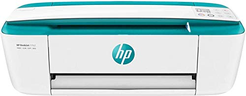 HP DeskJet 3762 + Tarjeta regalo €5 Amazon - Impresora multifunción tinta, color, Wi-Fi, copia, escanea, compatible con Instant Ink, color verde