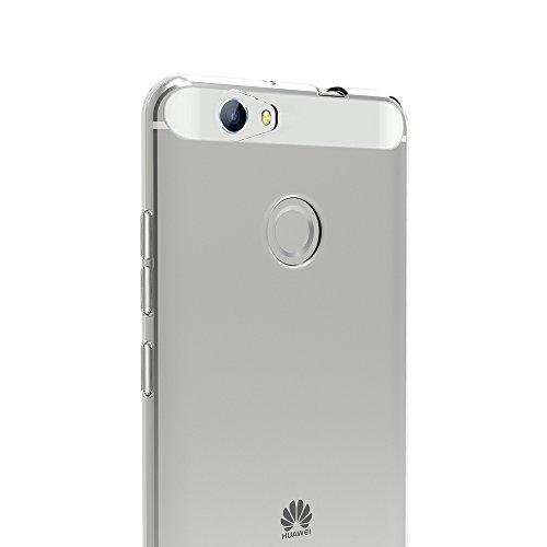AICEK Huawei Nova Hülle, Transparent Silikon Schutzhülle für Huawei Nova 5.0 Zoll Case Ultra Crystal Clear Durchsichtige TPU Bumper Huawei Nova Handyhülle - 5