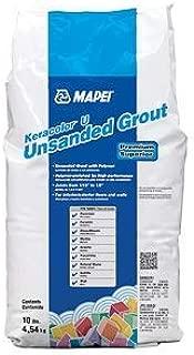 MAPEI Keracolor U UnSanded Powder Grout - 10LB/Bag - Premium Superior (77 Frost)
