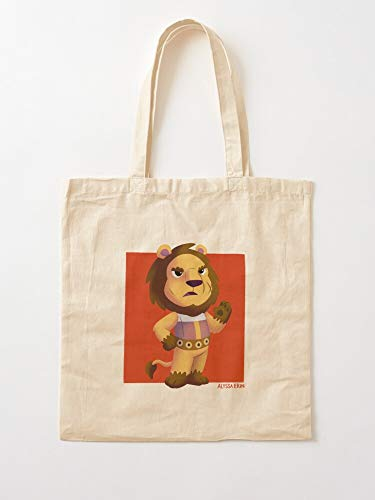 Villager Gamer Gaming Animal Video Games Nature Cartoon Cute Tote Cotton Very Bag | Canvas Grocery Bags Tote Bags with Handles Durable Cotton Shopping Bags