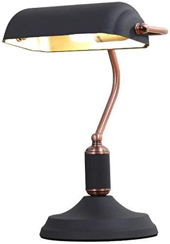 Lámpara de banquero retro con interruptor Lámpara de mesa tradicional Faro decorativo faros para el aprendizaje de la sala de estar de la oficina Hacker banquero lámpara