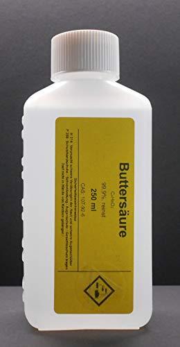 250 ml Buttersäure 99,9%, (Butansäure),reinst-Angelsport für Fischduft Boilis