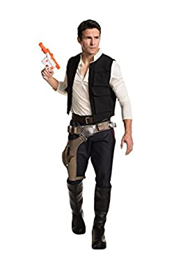 Rubie's Men's Classic Star Wars Grand Heritage Han Solo Adult Sized Costumes, As Shown, Standard US from Rubie's Costume Co