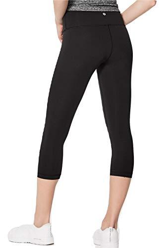 Lululemon Wunder Under Crop High Rise Luxtreme Yoga Pants (Black, 4)