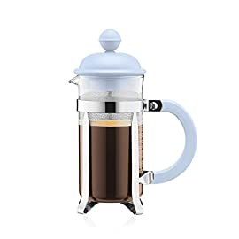 Bodum CAFFETTIERA 1913-338B-Y19 Coffee Maker with 3 Cups 0.35 L, glass