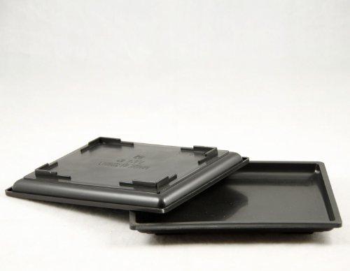 2 Plastic Humidity/drip Tray for Bonsai Tree - 7.5'x 5.75'x 0.75'