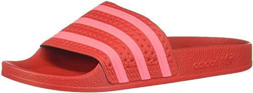 adidas Adilette Badelatschen, Scarlet-flash Red-scarlet (Ee6185), 37 EU
