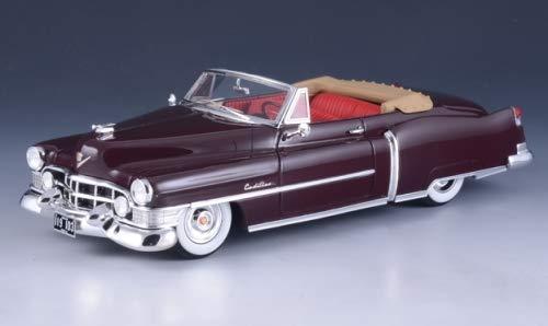 Cadillac Series 62 Convertible, Dunkelbraun, 1951, Modellauto, Fertigmodell, GLM 1:43