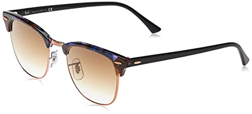 Ray-Ban 0RB3016 - Gafas de Sol Unisex-Adultos, Marrón (Spotted Brown Havana), 49 mm