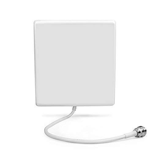 ORPEY Außen Yagi-Richtantenne Directional Interior Wall Panel Antenne 800 MHz/850MHz/900MHz-8dBi GSM 2G mit dem Anschluss N Buchse für Handysignalverstärker
