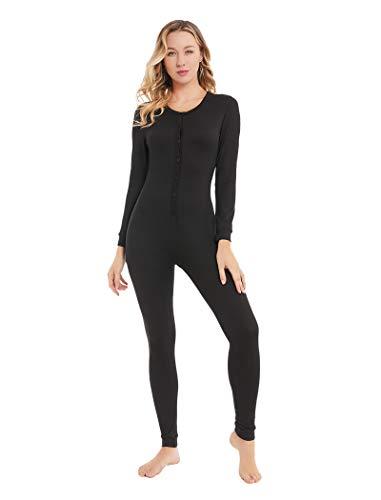 YANGXINYUAN Womens Onesie Pajamas Base Layers Thermal Underwear Long...