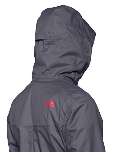 The North Face W Tanken Triclimate, Giacca Impermeabile Donna, Grigio (Grisaille Grey), XS