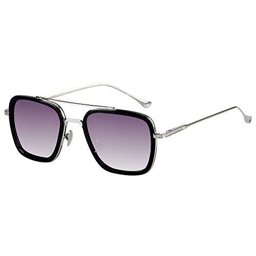 ANDWOOD Tony Stark Edith Glasses for Men and Women