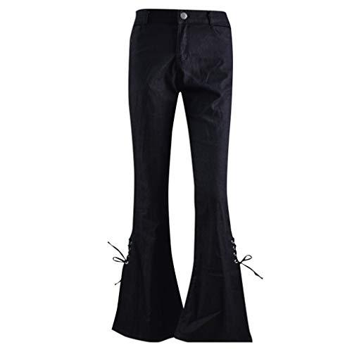FRAUIT dames slim fit jeansbroek opladen snit jeans broek vrouwen elegant hoge taille flared jeans XS-4XL
