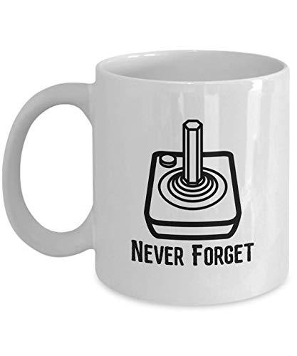 NEW * Atari Joystick Never Forget Mug