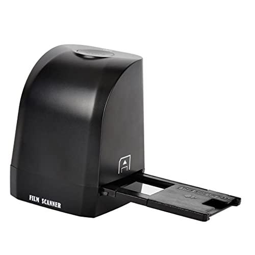 H HILABEE Scanner per Foto Scanner per pellicole Negative 135 Convertitore per Scanner per Diapositive di Pellicola Convertitore CMOS Portatile da 8 Pixel Pixel