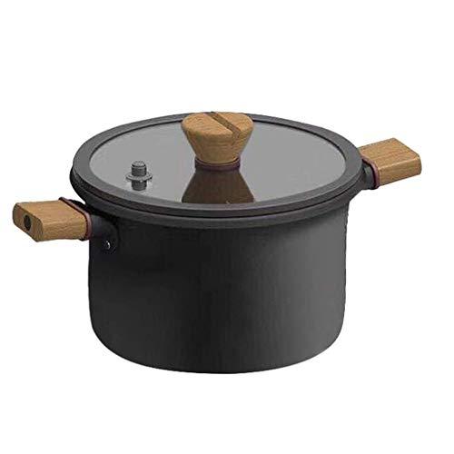 SHYOD Non-stick Wok Pan, Wok Pan Frying Pan Non-stick Stew Pan Soup Pot Induction Cooker