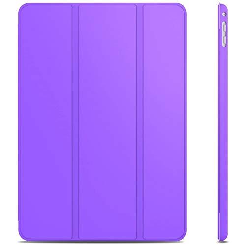 JETech Funda para iPad Air 2, Carcasa con Soporte Función, Auto-Sueño/Estela (Púrpura)