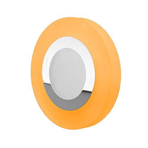 SpiceLED® DiskLED moderne neutre blanc/orange