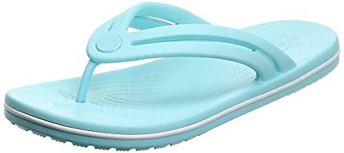 Crocs Crocband Flip, Chanclas Mujer, BLU (Ice Blue), 37/38 EU