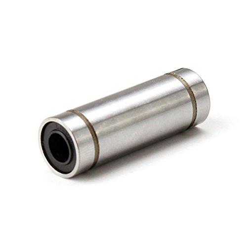 Machifit LM6LUU 6 mm de largo rodamiento de bolas lineal de movimiento de piezas CNC de rodamiento de bolas