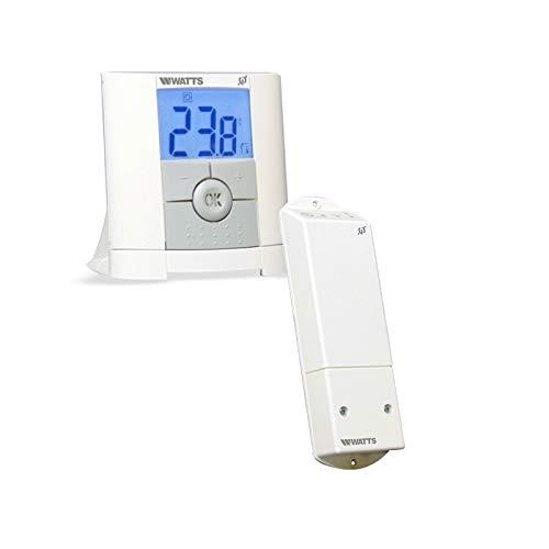 Watts Vision Digital Funk Thermostat mit 1x Aufputzempfänger Thermostatregler
