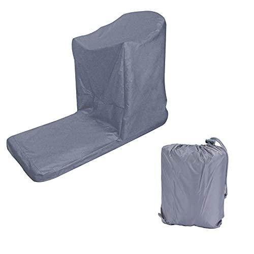 Cubierta Protectora para Cinta de Correr - Cubierta de Cinta para Correr al Aire Libre Impermeable A Prueba de Polvo Protector de máquina para Correr en Forma de L Gris 206x94x170cm