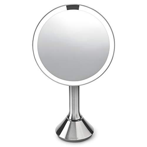 Miroir éclairant à capteur de luminosité Simplehuman
