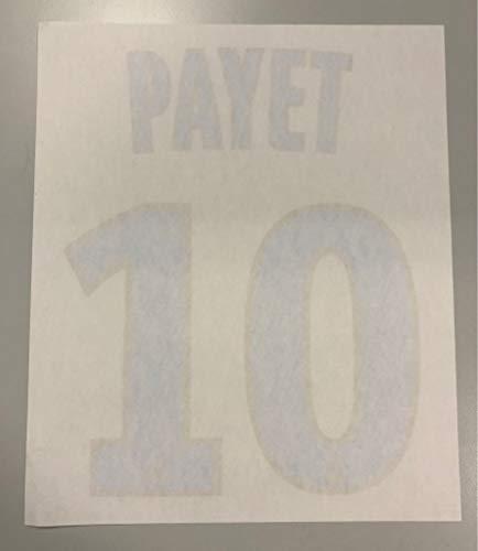 Flock Original Olympique Marseille Trikot 20cm - Payet 10