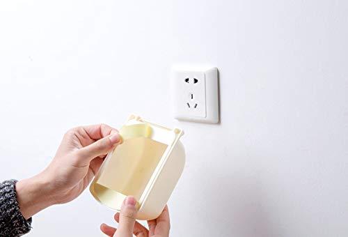 SISHUINIANHUA Praktische Staubdichtes Anti - Steckdose Abdeckungs-Fall Baby-Sicherheits-wasserdichte Steckdose Schutz Kunststoff Switch Box Home Decor