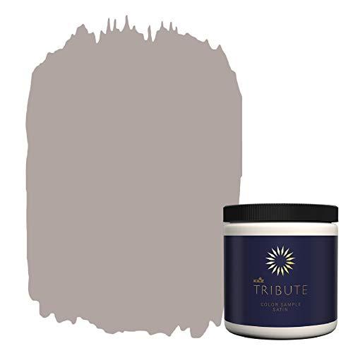 KILZ TRIBUTE Interior Satin Paint & Primer In One, 8-Ounce Sample, Meadow Mauve (TB-26)