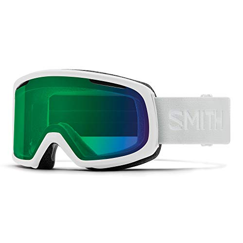 Smith Riot Skibril voor dames, wit vapor